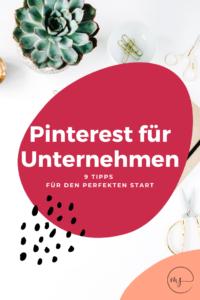 Pinterest für Unternehmen