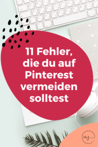 Pinterest Marketing Fehler
